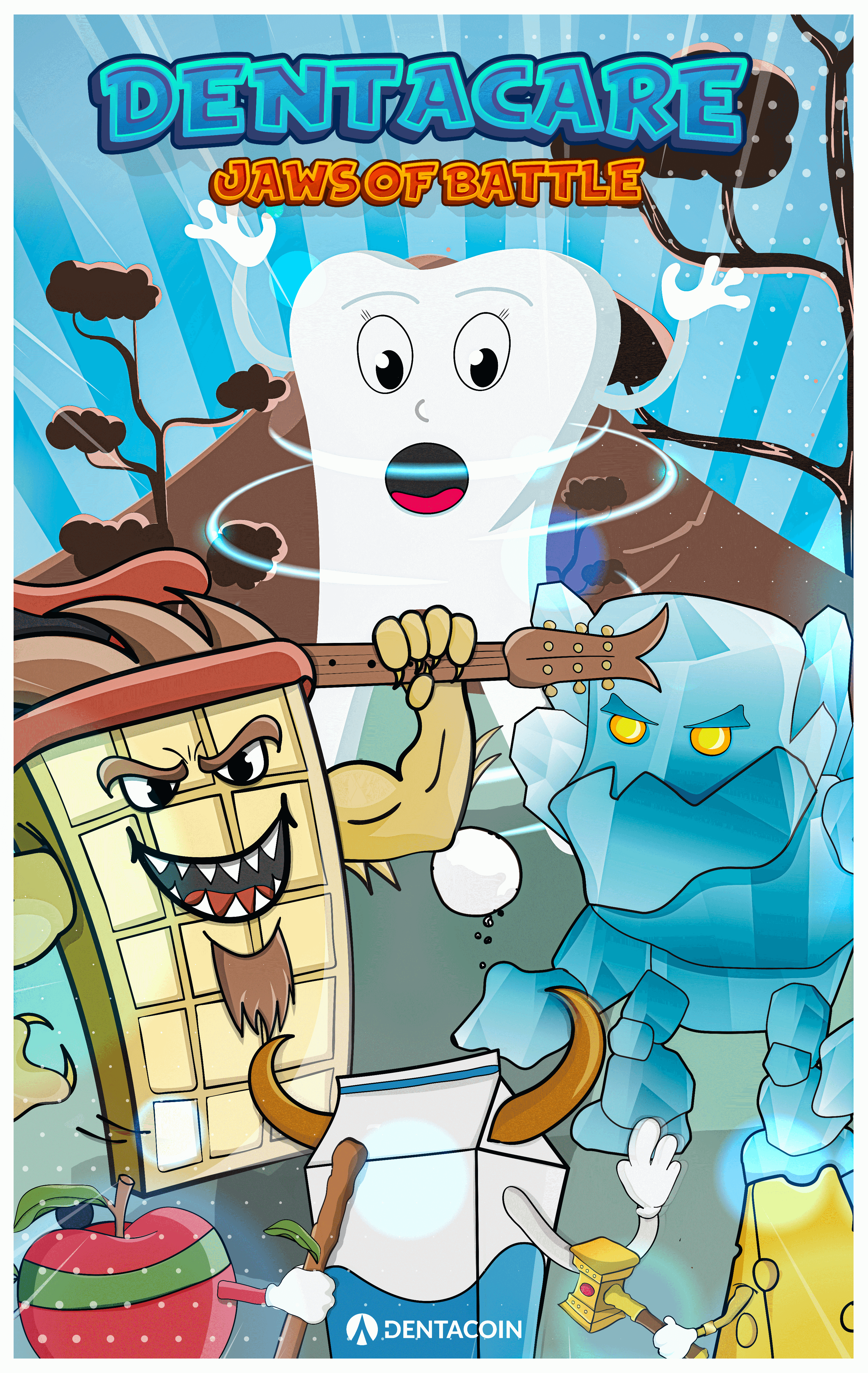 Dentacare comics page 0 cover